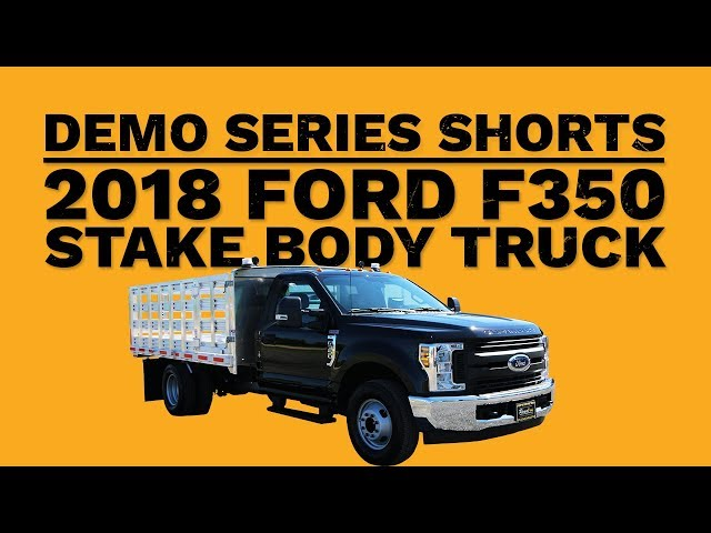 2018 Ford F350 Stake Body Truck | Short Truck Demo | Royal Truck & Equipment