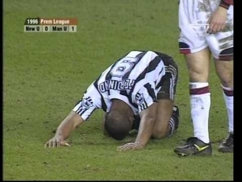 04/03/1996 Newcastle United v Manchester United