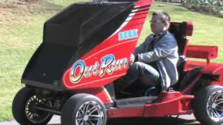 Game | OutRun Augmented Reality Driving Video Game | OutRun Augmented Reality Driving Video Game