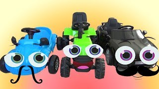 Children's Toy Play Learning videos with Toys for Kids Car and  Power Wheels
