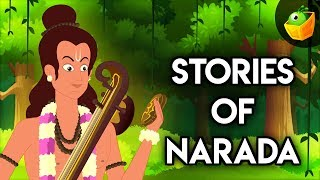 Krishna and Sage Narada - Great Indian Epic Collections & BedTime Stories for Kids