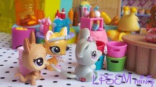 Minişler: Misafirlikte Şanslı Bir Gün :・゚✧ | LPSEM miniş videoları izle - Türkçe Littlest Pet Shop