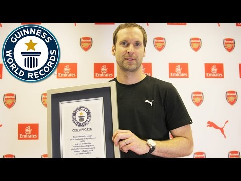 Petr Cech - Most clean sheets in the Premier League by a football goalkeeper