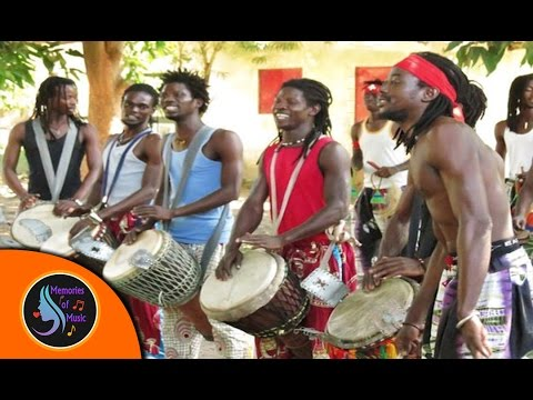African Music - African Senegal Drums - Traditional Drum Music