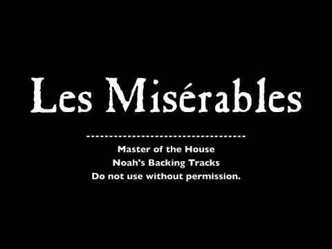 12. Master of the House - Les Misérables Backing Tracks (Karaoke/Instrumentals)