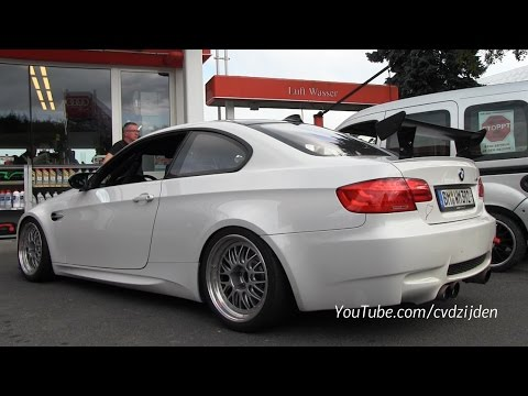 modified bmw m3 e92 with akrapovic exhaust start and. Black Bedroom Furniture Sets. Home Design Ideas