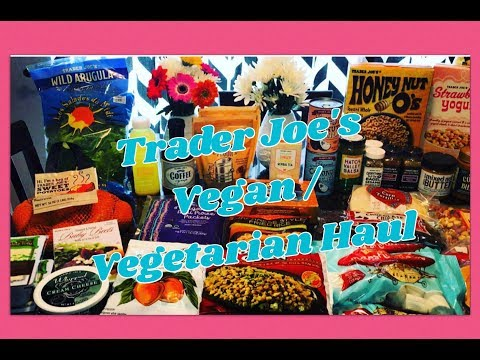 Trader Joes Haul | Vegan and Vegetarian