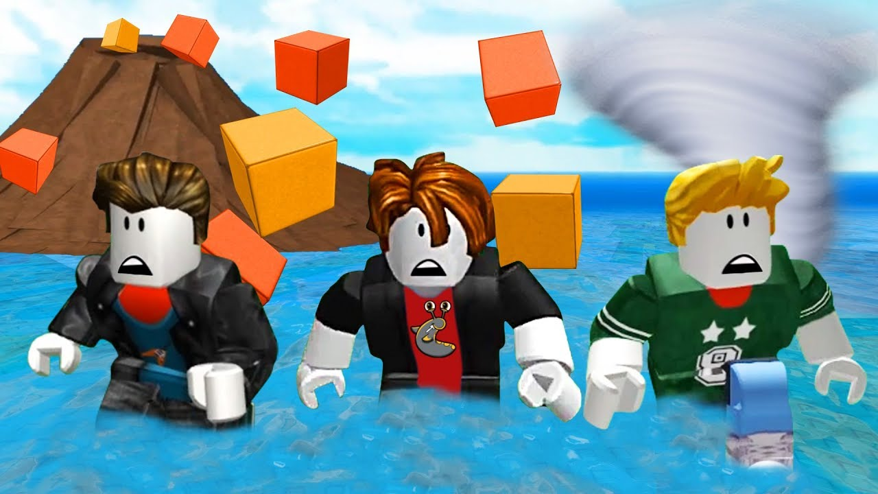 Multiplayer Natural Disaster Survival Roblox Youtube