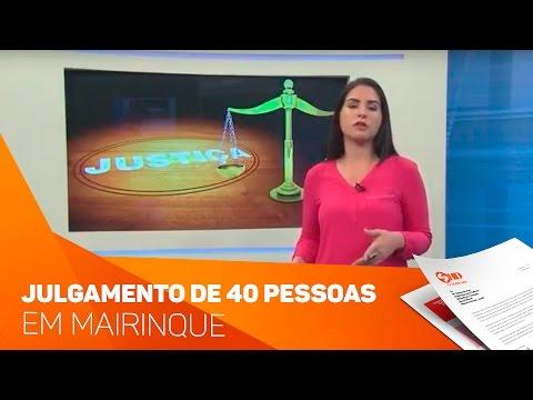 Julgamento em Mairinque Facção criminosa - TV SOROCABA/SBT