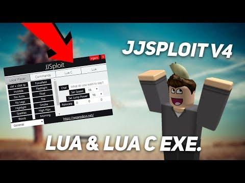 OP ROBLOX HACK/EXPLOIT: JJSPLOIT V4 [WORKING] NEAR FULL LUA & FULL LUA C EXE. W/ CLICK TP. (July 26)