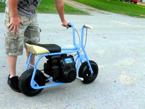 Old School Mini Bike Honda Motor Youtube