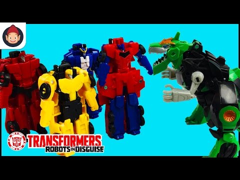 Transformers Robots in Disguise Combiner Force Crash Combine
