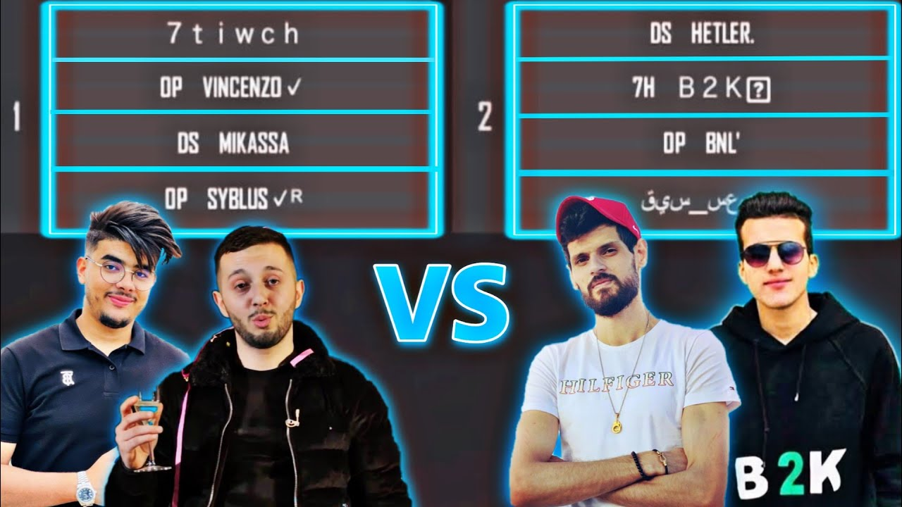 B2k & BNL VS VINCENZO & SYBLUS Clash Squad Custom Match    OLD memories Legend are never Die