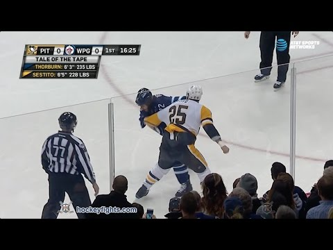 Tom Sestito vs Chris Thorburn Mar 8, 2017