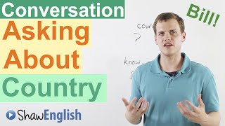 Questions to ask someone from a different country