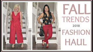 Fall Outfit Trends 2018 for Women over 40 | Budget Friendly Haul