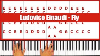 ♫ ORIGINAL - How To Play Fly Ludovico Einaudi Piano Tutorial Lesson! - PGN Piano