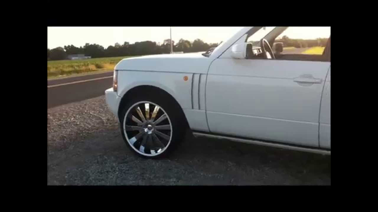 Range Rover On 24s Youtube