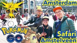 POKÉMON GO #38 Des Pokémons PARTOUT à Amstelveen / Amsterdam. Et ELECTHOR ?! thumbnail