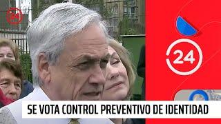 """Piñera: """"Condeno a todos los que creen que pueden protestar sin respetar la ley"""""""