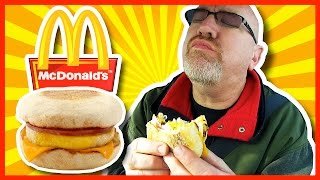 asmr mcdonalds breakfast
