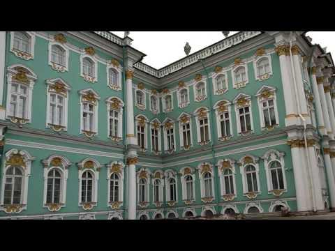 SpB - Neva Embankment, Hermitage, Palace Square