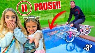 PAUSE CHALLENGE por 24 horas con Itarte vlogs