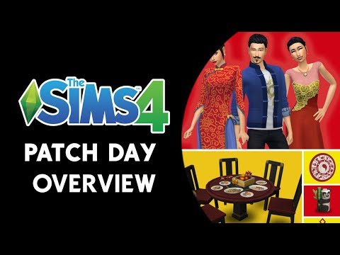 The Sims 4 Patch Day Overview! (LUNAR NEW YEAR AND BUG FIXES!) thumbnail
