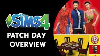 The Sims 4 Patch Day Overview! (LUNAR NEW YEAR AND BUG FIXES!)