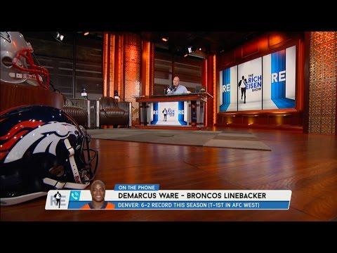 Denver Broncos LB DeMarcus Ware Talks Tony Romo, Von Miller & More - 11/1/16