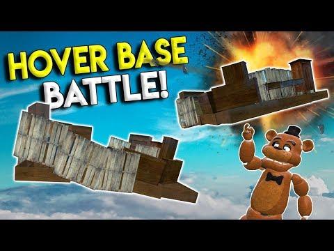 HOVER BASE BATTLE CHALLENGE! - Garry's Mod Gameplay - Gmod Base Building