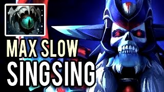 MAX Slow in DOTA 2 ► New Meta by SingSing Mask of Madness + Skadi Lich Super Carry Gameplay Dota 2
