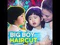 Big boy haircut | KAMI |  Toni Gonzaga didn't want to cut her son's precious curls