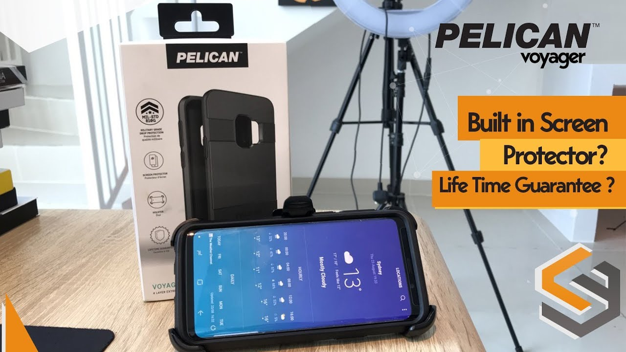 online store 07256 0c62e Pelican Voyager Samsung Galaxy S9 Rugged Case Review & Comparison