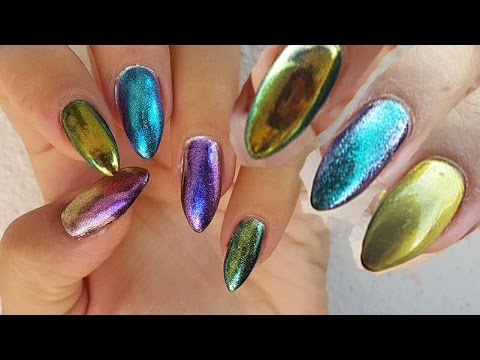 Chameleon Nail Powder Chrome Pigment Glitters Bornpretty