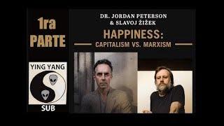 Slavoj Zizek vs Jordan Peterson(Subtitulado en Español)-PRIMERA PARTE