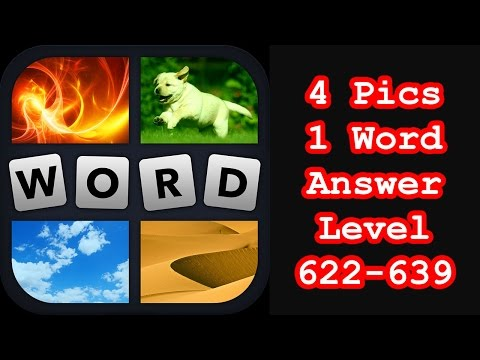 4 Pics 1 Word - Level 622-639 - Find 4 words beginning with a vowel! - Answers Walkthrough
