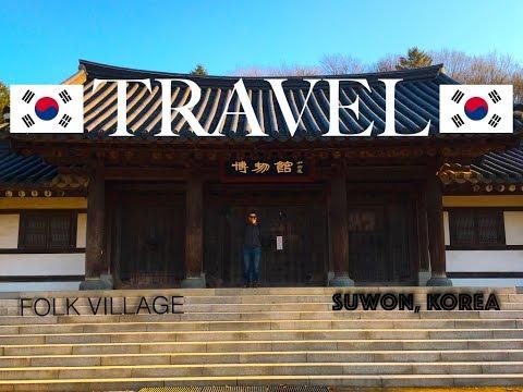 The Beautiful city of Suwon, South Korea
