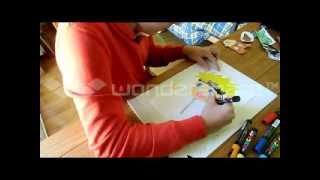 How to draw Naruto Chibi