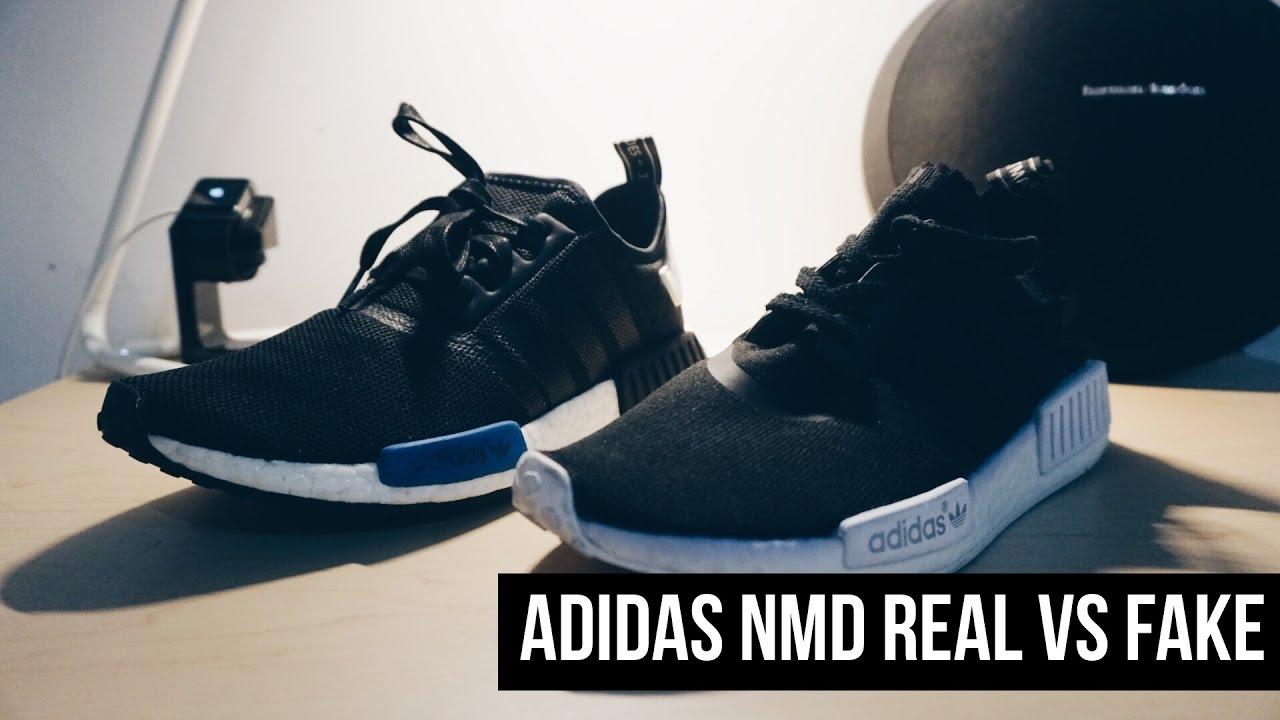 la snkrs adidas nmd reale vs falso su youtube