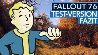 Fallout 76 bezahlt für Multiplayer einen hohen Preis