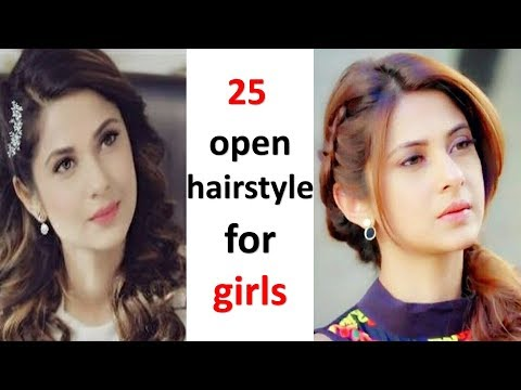 25-unique-open-hairstyles-for-girls-||-hairstyle-for-girls-||-cute-hairstyles-||-easy-hairstyle