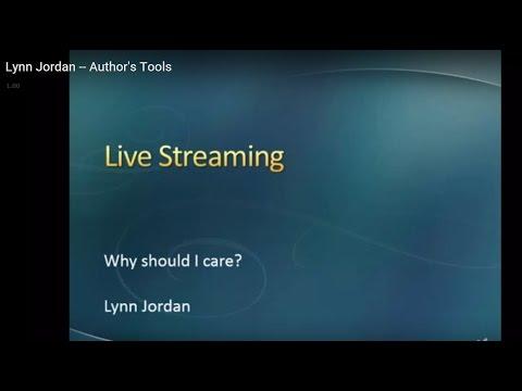Lynn Jordan -- Author's Tools