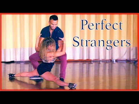Perfect Strangers - Improvised Zouk Dance - Carlos & Fernanda & Arthur - What Do You Mean?