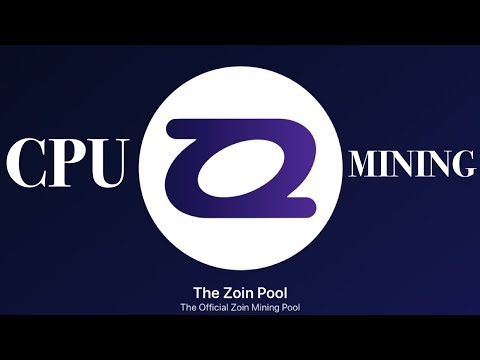 "Zoin Coin CPU Mining ""21 mln Max Supply""  Masternode  IntenseCoin GPU Mining   Dual Mining CPU/GPU"