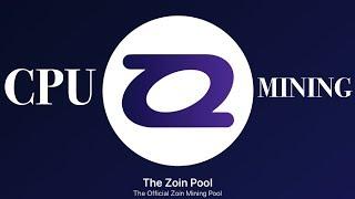 "Zoin Coin CPU Mining ""21 mln Max Supply"" |Masternode| IntenseCoin GPU Mining | Dual Mining CPU/GPU"