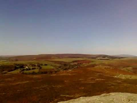 Whirly moments, Haytor, nr Exeter english countryside video 16 / 10 / '10