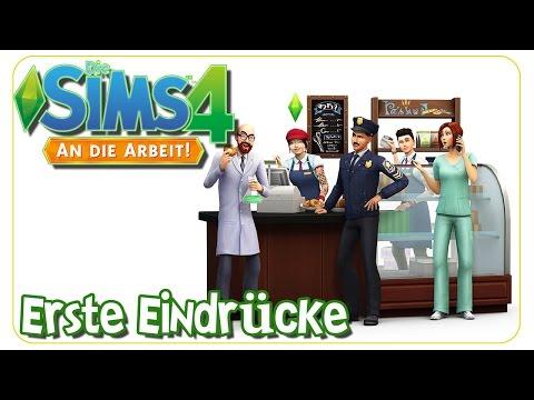 Die Sims 4 An die Arbeit - Erste Eindrücke Gameplay, CAS, Möbel & more - The Sims 4