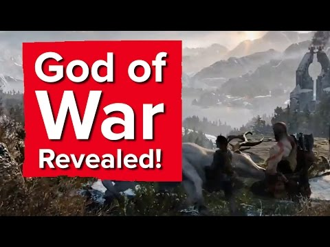 10 minutes of God of War Gameplay - PlayStation E3 2016
