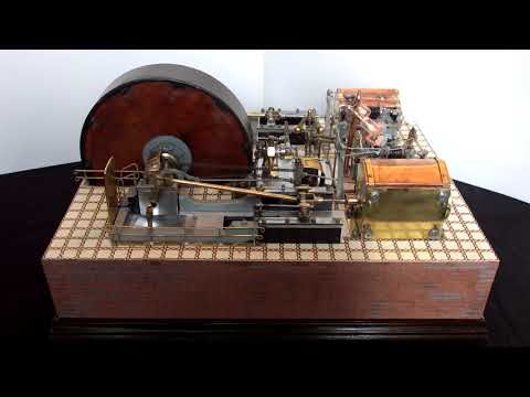 Ted Atherton's Corliss Mill Engine restored